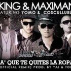 Cosculluela Ft. JKing y Maximan y Yomo - Pa Que te Quites la Ropa (Remix) MP3