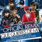Gotay El Autentiko Ft Ñengo Flow, Farruko, J Alvarez, Jory - Que Quieres De Mi (Remix) MP3