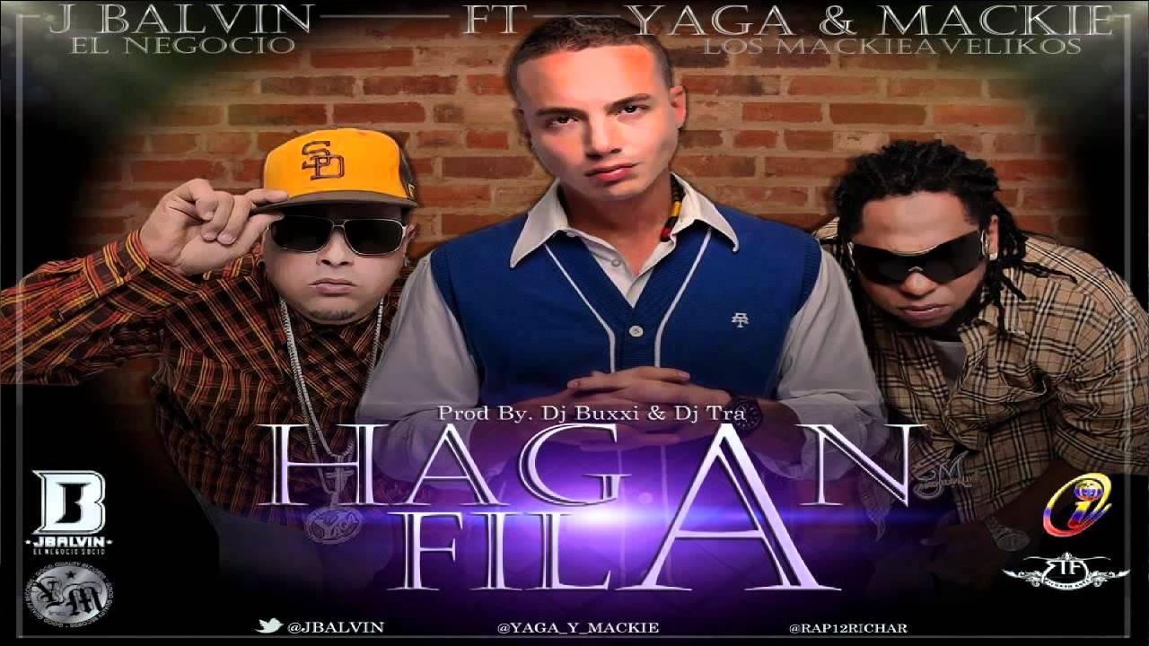 Yaga Y Mackie Ft. J Balvin - Hagan Fila