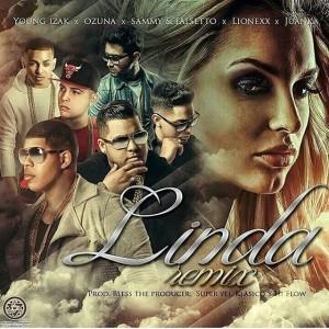 Young Izak Ft. Falsetto Y Sammy, Juanka El Problematik, Ozuna Y Lionexx - Linda Remix