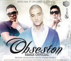 Maluma Ft. Dyland Y Lenny - Obsesion (Remix) MP3