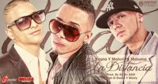 Maluma Ft. J Kapla Y Malcri - La Distancia MP3