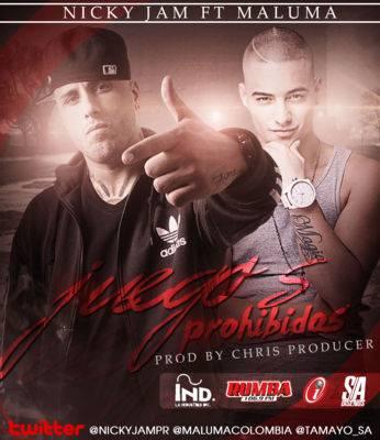 Maluma Ft. Nicky Jam - Juegos Prohibidos (Remix) MP3