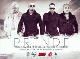 Wisin y Yandel Ft Oneill y Franco El Gorila - Prende MP3