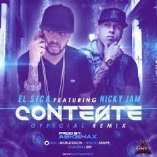 El Sica Ft. Nicky Jam - Conteste MP3