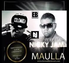 Element Black Ft. Nicky Jam - Maulla MP3