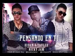Hydan y Tayler Ft. Nicky Jam - Pensando En Ti MP3