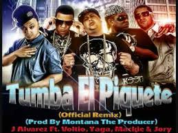 J Alvarez Ft J Voltio, Jory, Yaga y Mackie - Tumba El Piquete (Remix) MP3