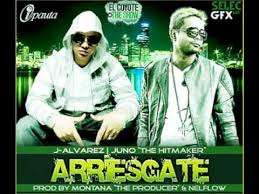 J Alvarez Ft. Juno The HitMaker - Arriesgate MP3