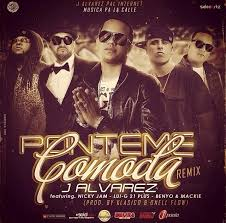 J Alvarez Ft. Nicky Jam- Lui-G 21 Plus- Benyo Y Mackie - Ponteme Comoda MP3