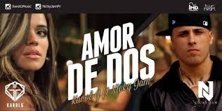 Karol G Ft. Nicky Jam - Amor De Dos MP3