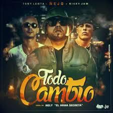 Nejo Ft. Nicky Jam y Tony Lenta - Todo Cambio MP3
