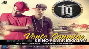 Nicky Jam Ft. Keino - Vente Conmigo (Remix) MP3