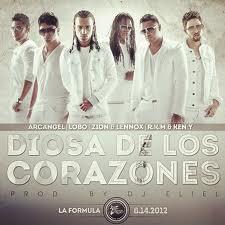 Rakim y Ken-Y Ft. Arcangel, Zion y Lennox y Lobo - Diosa De Los Corazones (Dance Version) MP3