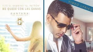 Tito El Bambino El Patron - Me Quede Con Las Ganas MP3