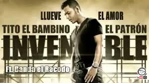 Tito El Bambino Ft. Banda El Recodo - Llueve El Amor (Version Banda) MP3