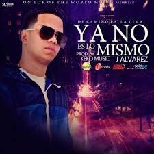 J Alvarez - No Es lo Mismo MP3