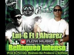 Lui-G 21 Plus Ft J Alvarez - Bellaqueo Intenso MP3