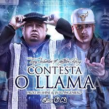 Tony Infantas Ft. Carlitos Rossy - Contesta o Llama MP3
