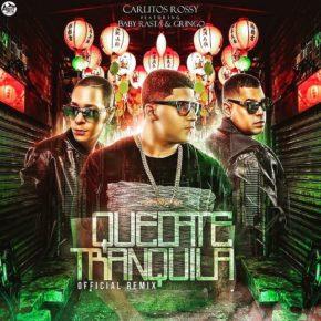 Carlitos Rossy Ft Baby Rasta & Gringo - Quédate Tranquila (Remix) MP3