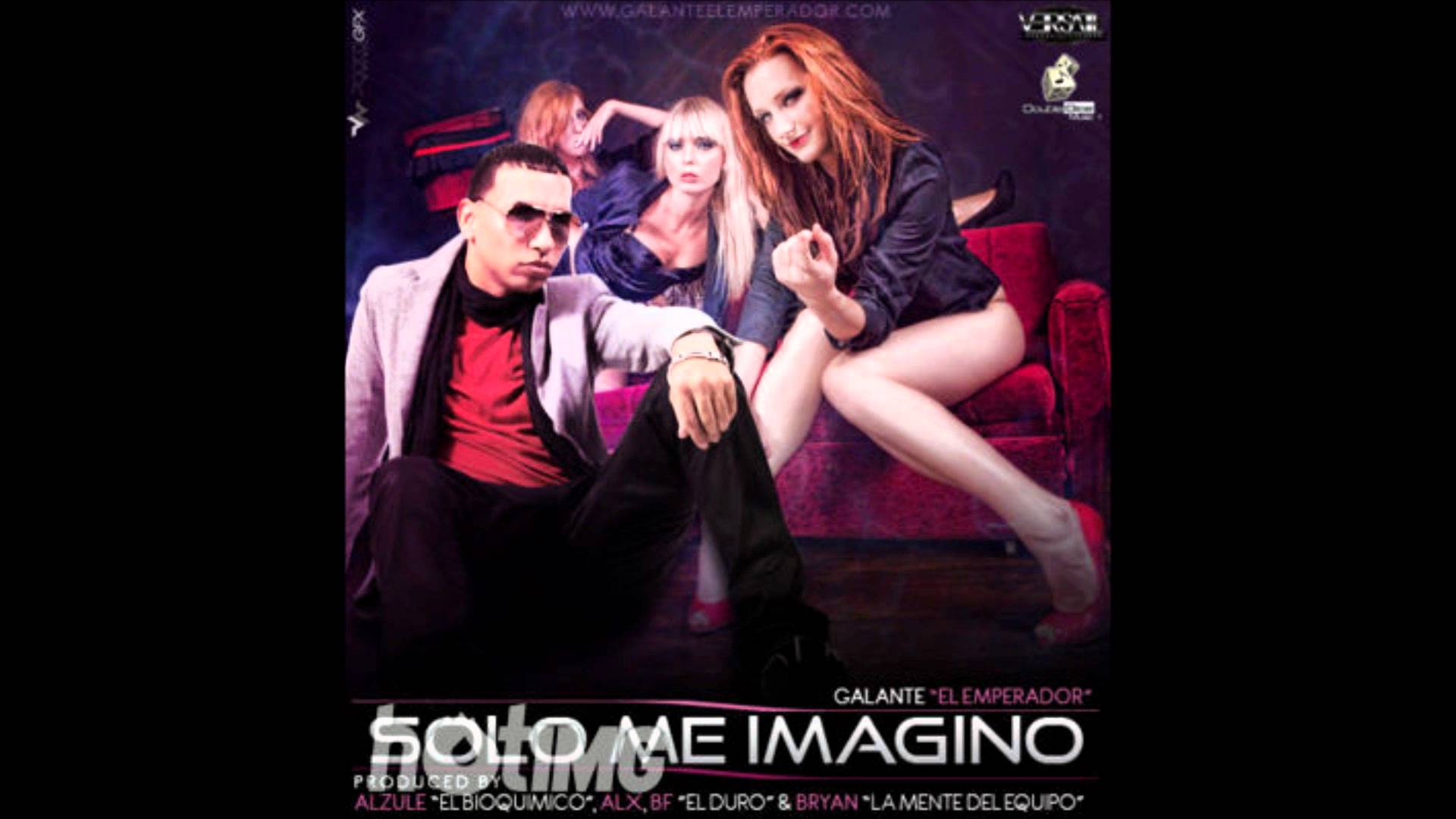 Galante El Emperador - Solo Me Imagino MP3