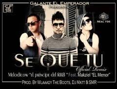 Galante Ft Makziel El Menor - Se Que Tu MP3