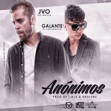 JVO The Writer Ft. Galante El Emperador - Anonimos MP3