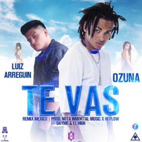 Luiz Arreguin Ft. Ozuna - Te Vas (Mexico Remix) MP3