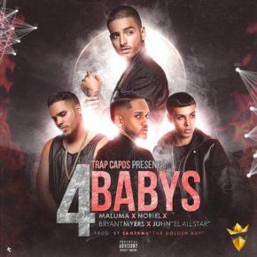 Maluma Ft. Bryant Myers, Noriel & Juhn El AllStar - 4 Babys MP3