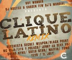 Lito y Polaco Ft. Mc Ceja, Chyno Nyno, Jenny La Sexy Voz, Reychesta, Yomo, Black Point y Mas - Clique (Chosen Few Remix) MP3