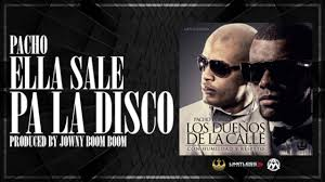 Pacho - Ella Sale Pa La Disco MP3