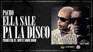 Pacho - Ella Sale Pa La Disco MP3