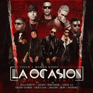 De La Ghetto, Ozuna, Arcangel, Anuel AA, Daddy Yankee, Nicky Jam, J Balvin, Zion, Farruko - La Ocasion Remix
