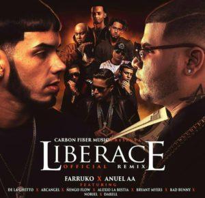 Farruko Ft. Anuel AA, De La Ghetto, Arcangel, Ñengo Flow, Alexio, Bryant Myers, Bad Bunny, Noriel, Darell - Liberace Remix
