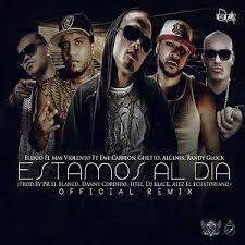 Randy Glock Ft. Ellioo, Eme Carrion, Ghetto y Algenis - Estamos Al Dia Remix MP3