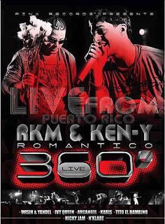 R.K.M. Y Ken-Y - Romantico 360 - Live (2009) Album