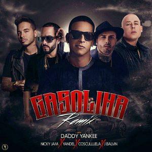 Daddy Yankee Ft. Nicky Jam, Yandel, Cosculluela, J Balvin - Gasolina Remix MP3