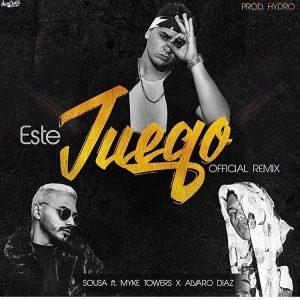 Sousa Ft. Myke Towers, Alvaro Diaz - El Juego Remix MP3