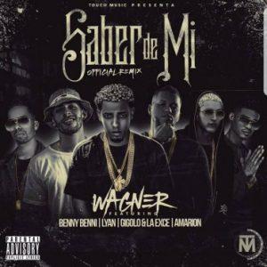 Wagner Ft. Benny Benni, Lyan, Gigolo Y La Exce, Amarion - Saber De Mi Remix MP3
