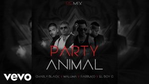 Charly Black Ft. Daddy Yankee, Maluma, Farruko, El Boy C - Party Animal Remix MP3