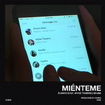 Alvaro Diaz Ft. Myke Towers y Sousa - Mienteme MP3
