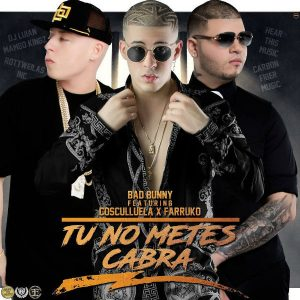 Bad Bunny Ft. Cosculluela, Farruko - Tu No Metes Cabra Remix MP3