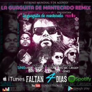 Siniestro Ft. Tempo, Gotay, Lito MC Cassidy, Lyan, El Sica, Gallego, Genio - La Guaguita De Mantecado Remix MP3