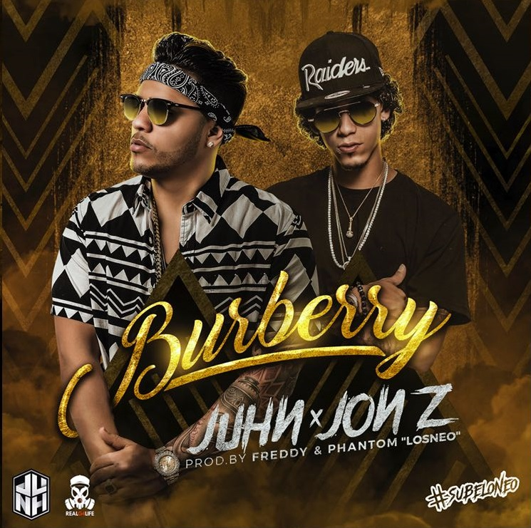 Juhn El All Star Ft. Jon Z - Burberry MP3