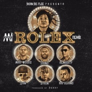 Jhoan Joe Ft. Almighty, Miky Woodz, Kapuchino, Lyan, Drino, Zyron - Presidente Rolex Remix MP3
